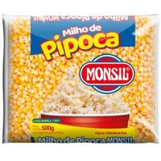 PIPOCA MILHO MONSIL 20X500G