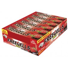 DROPS FREEGELLS 3X1 MORANGO CHOCOLATE CRISTAIS 12x1UN