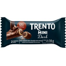 CHOCOLATE BARRA PECCIN TRENTO MINI DARK WAFER 20X16G