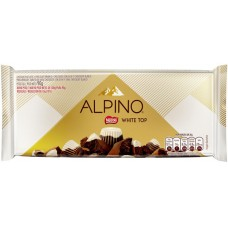 CHOCOLATE BARRA NESTLE ALPINO WHITE TOP 14X90G