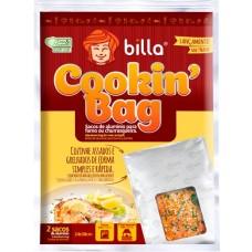 FOLHA ALUMINIO BILLA 24CMX38CM SACO COOKIN BAG 1X2UN