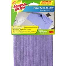 PANO SCOTCH BRITE CHAO 49X59CM ROXO 1X1UN