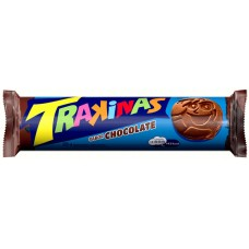 BISCOITO TRAKINAS RECHEADO CHOCOLATE 1X126G