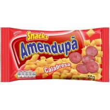 SALGADINHO AMENDUPA CALABRESA SNACKS 20X50G