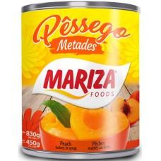 DOCE CALDA PESSEGO MARIZA METADES  1X450G