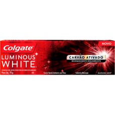 CREME DENTAL COLGATE LUMINOUS WHITE CARVAO ATIVADO 12X70G