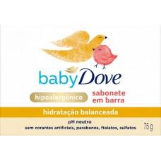 SABONETE DOVE BABY BARRA HIDRATACAO BALANCEADA 12x75G
