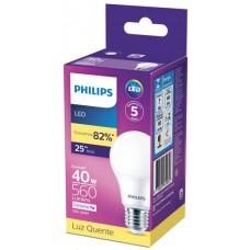 LAMPADA PHILIPS LED BULBO QUENTE 560L 7W 1X1UN BIV