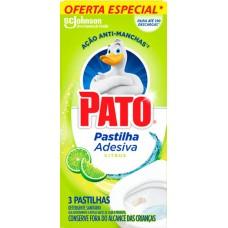 DESINFETANTE PATO PASTILHA ADESIVA CITRUS PROMO 1X3UN