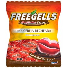 BALA RICLAN MASTIGAVEL FREEGELLS BEIJINHO CHOC 1X584G