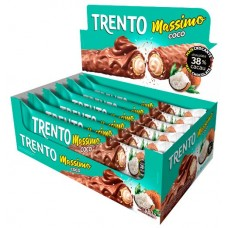 CHOCOLATE BARRA PECCIN TRENTO MASSIMO COCO WAFER 16X30G