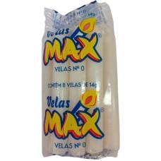 VELA MAX BRANCA NR 0 14G 30X8UN