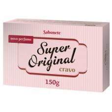 SABONETE SUPER ORIGINAL BARRA CRAVO 12X150G