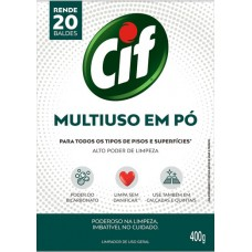 LIMPADOR CIF MULTIUSO PO PISOS SUPERFICIES 1X400G