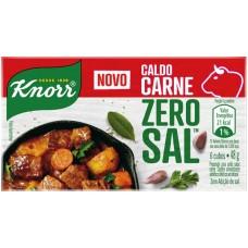 CALDO KNORR 3L ZERO SAL CARNE 10X48G