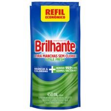 TIRA MANCHAS BRILHANTE UTILE LIQUIDO FRESH 1X450ML REF