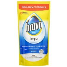 LIMPADOR BRAVO COM BRILHO REFIL PORCELANATO CERAMICAS 1X400ML