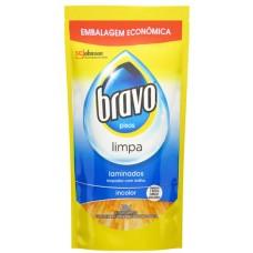 LIMPADOR BRAVO COM BRILHO REFIL LAMINADOS 1X400ML