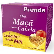 CHA PRENDA 10S MACA CANELA GENGIBRE MEL 1X22G