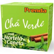 CHA PRENDA 10S CHA VERDE HORTELA CANELA 1X17G