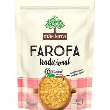 FARINHA FAROFA MAE TERRA TRADICIONAL  1X200G