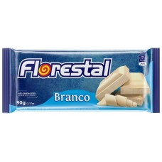 CHOCOLATE BARRA FLORESTAL BRANCO  10X90G