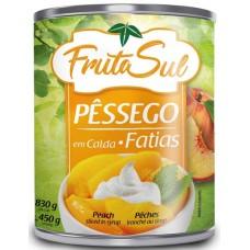 DOCE CALDA PESSEGO FRUTASUL FATIAS 1X450G