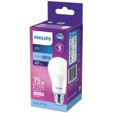 LAMPADA PHILIPS LED BULBO FRIA 11W 1018LM 1X1UN 75W