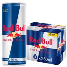 ENERGETICO RED BULL 6X250ML LAT