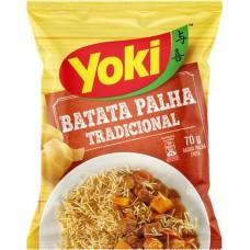 SALGADINHO YOKI BATATA PALHA TRADICIONAL 1X70G