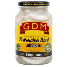 PALMITO GDM PALMEIRA REAL RODELAS 1X300G
