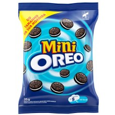 BISCOITO OREO RECHEADO MINI CHOCOLATE 1X10UNX35G