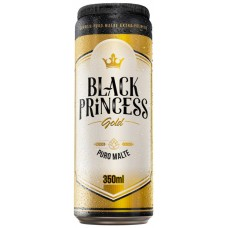 CERVEJA LATA BLACK PRINCESS GOLD 12X350ML