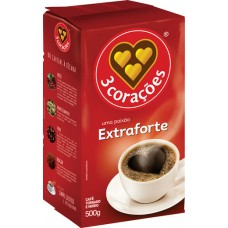 CAFE 3 CORACOES VACUO EXTRA FORTE 1X500G