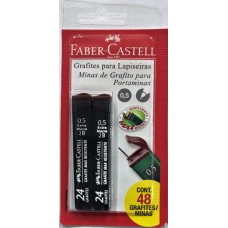 LAPISEIRA REFIL FABER CASTELL GRAFITE 0,5MM 1X2UN SM