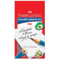 LAPIS GRAFITE FABER CASTELL ECOLAPIS MAX N2 144X1UN