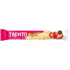 CHOCOLATE BARRA PECCIN TRENTO MASSIMO MORANGO WAFER 16X30G