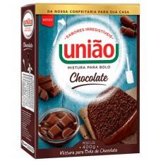 MISTURA BOLO UNIAO CHOCOLATE 1X400G