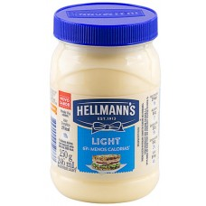 MAIONESE HELLMANNS POTE LIGHT 1X250G