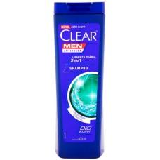 SHAMPOO CLEAR MEN LIMPEZA DIARIA 2 EM 1  1X400ML_M