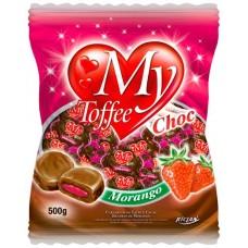 BALA RICLAN MASTIGAVEL MY TOFFEE CHOCOLATE MORANGO 1X500G