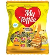 BALA RICLAN MASTIGAVEL MY TOFFEE MOUSSE MARACUJA 1X500G