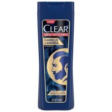 SHAMPOO CLEAR MEN CABELO BARBA  1X200ML_M