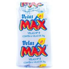 VELA MAX BRANCA NR 08 31G 24X6UN