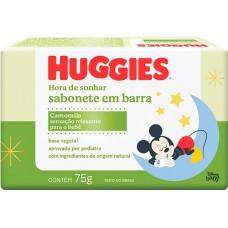 SABONETE HUGGIES BARRA CHA CAMOMILA 12X75G