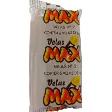 VELA MAX BRANCA NR 02 14G 24x6UN