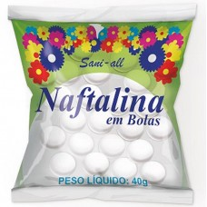 ANTI TRACA SANI ALL NAFTALINA BOLA 12x40G