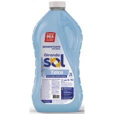 DESINFETANTE GIRANDO SOL TALCO 6X2L