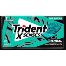 CHICLE TRIDENT XFRESH HERBAL 21x1UN